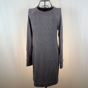 Lou & Grey pale purple rayon blend knit dress S